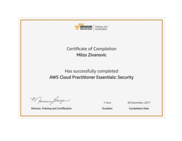 Aws cloud practitioner