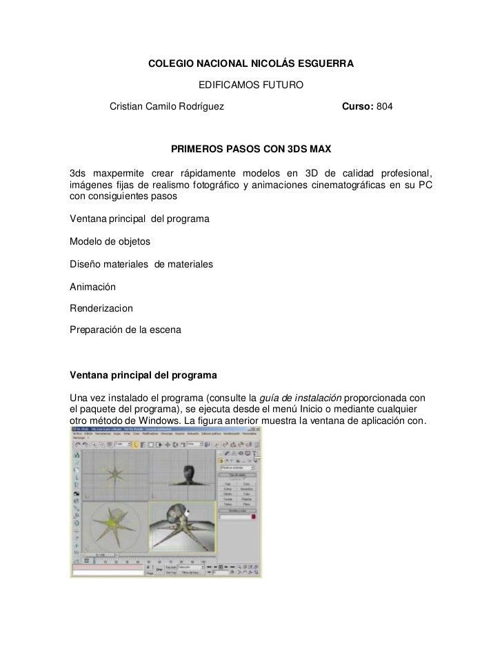 COLEGIO NACIONAL NICOLÁS ESGUERRA                            EDIFICAMOS FUTURO        Cristian Camilo Rodríguez           ...