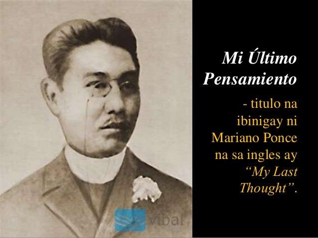 ang huling paalam by jose rizal Ang ligpit kong tahanan : jose rizal (philippine national hero) (source: rizalianaweb site)  huling paalam  ang awit ni maria clara  main tagalog page.