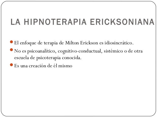 HIPNOTERAPIA ERICKSONIANA EPUB