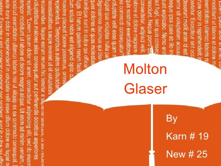 Molton  Glaser   By  Karn # 19 New # 25