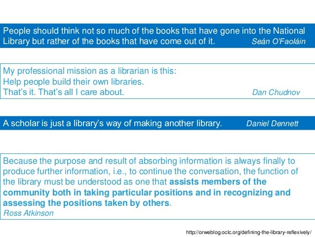 Challenges and opportunities for academic libraries Slide 3