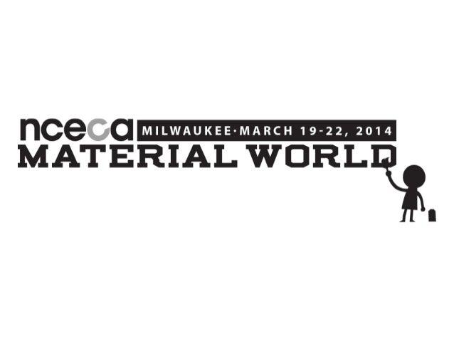 2014 NCECA Emerging Artist John Michael Kohler Arts Center Awardee: David Eichelberger