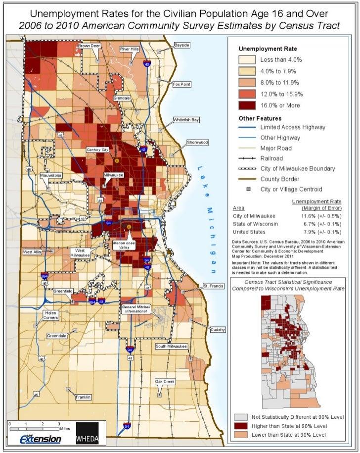 Milwaukee unemployment census