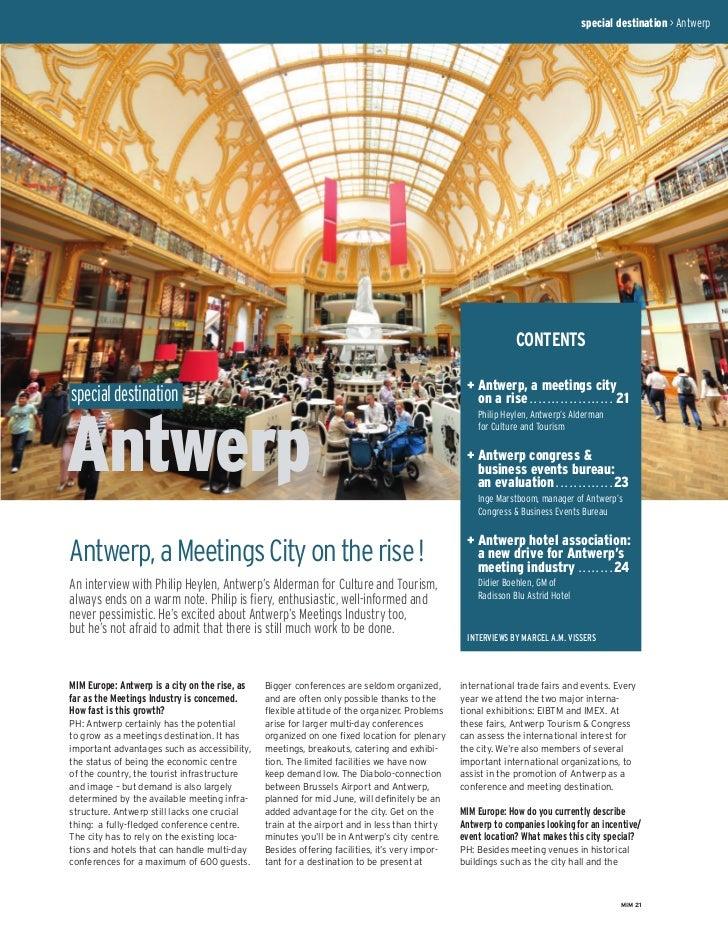 special destination > Antwerp                                                                                             ...