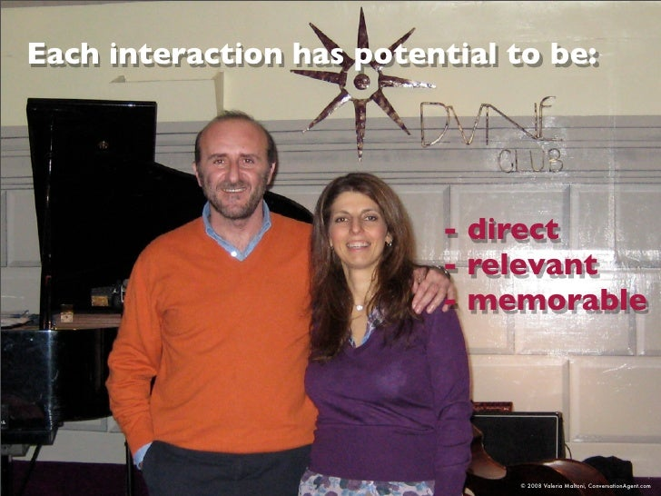 Each interaction has potential to be:                                - direct                            - relevant       ...