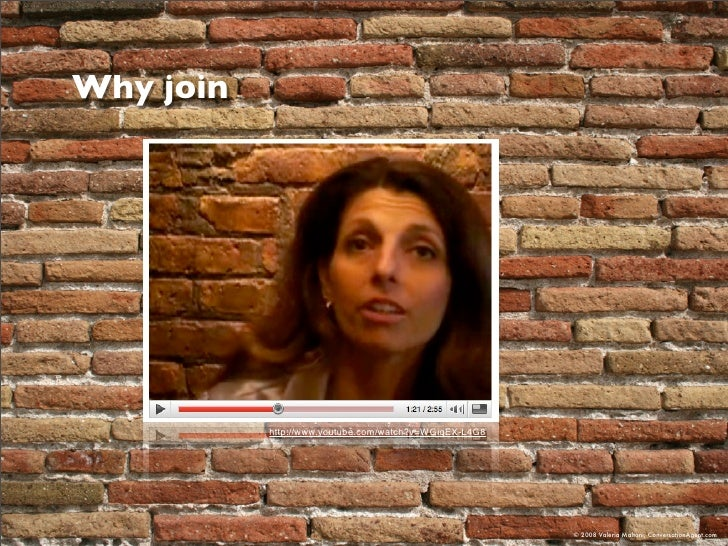 Why join                http://www.youtube.com/watch?v=WGiqEX-L4G8                                                        ...