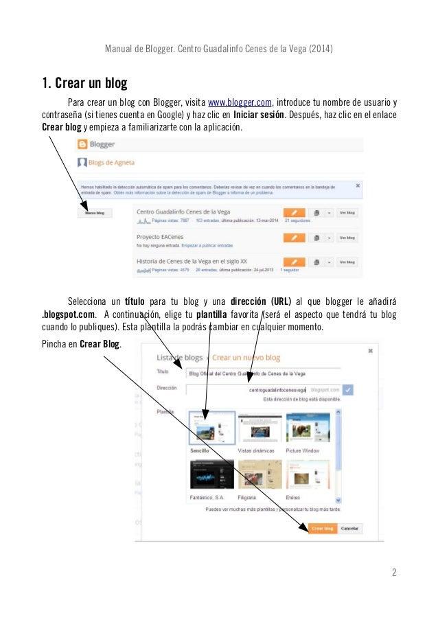 Tutorial blogger (2014) Slide 2