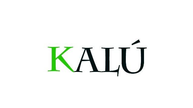 Explicación de logo. - En este logo todos se preguntaran por que KALÚ, bueno ese era mi apodo en la mayoría de años de col...