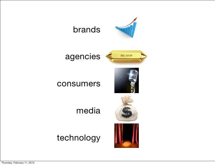 brands                                  agencies                                 consumers                                ...