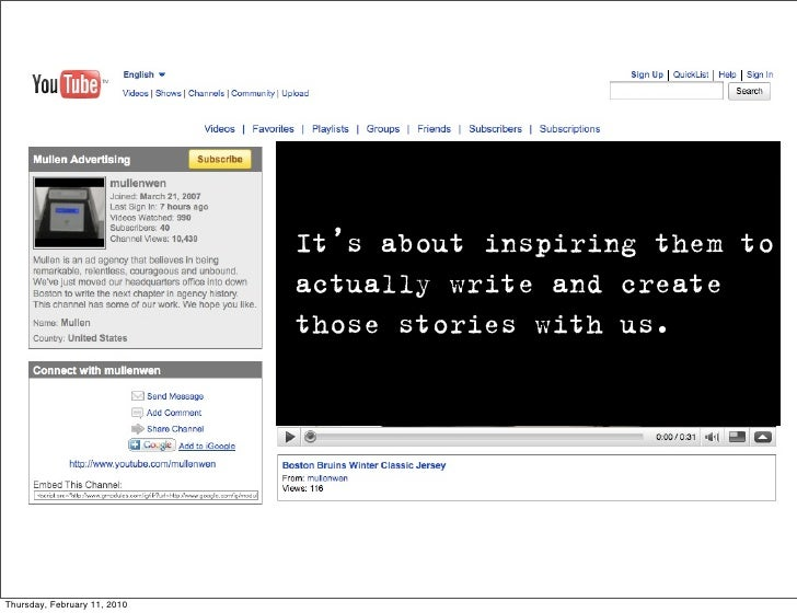 It's about inspiring them to                               actually write and create                               those s...