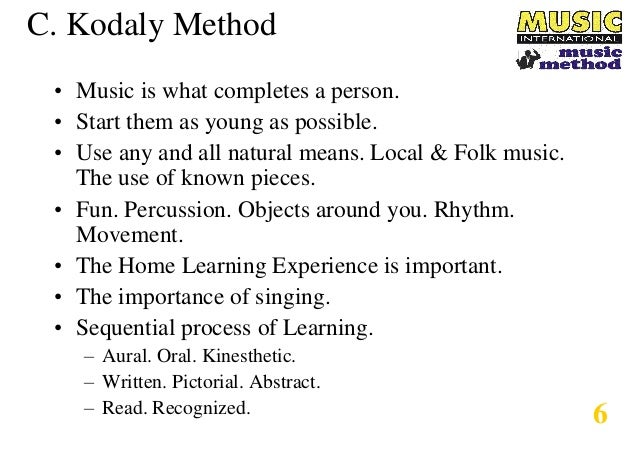 The Music International Method