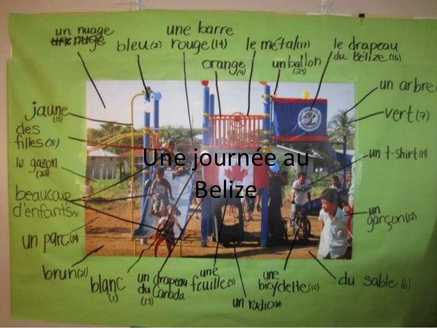 Nos mots de la photo Une journée au Belize