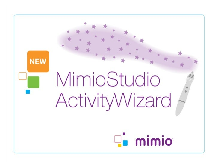 Mimio Activity Wizard Basics