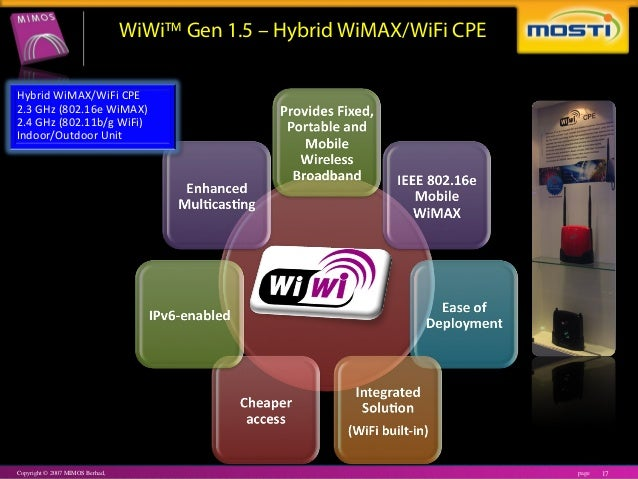 advantages of p1 wimax Although its promotional prices for 4g lte are targeted at select tm and p1 wimax subscribers only analysts said another advantage of yes.