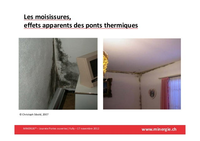www.minergie.chMINERGIE® – Journée Portes ouvertes| Fully – 17 novembre 2012© Christoph Sibold, 2007Les moisissures,effets...