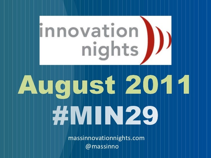 massinnovationnights.com @massinno