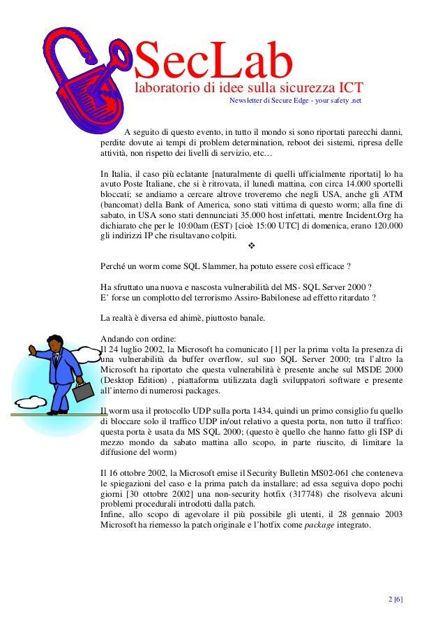 Minaccie Vere Vulnerabilita Evitabili Slide 2