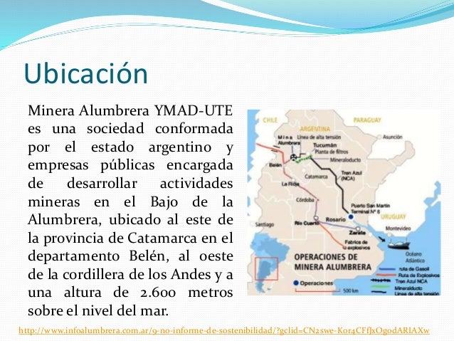 ubicacion mirena alumbrera argentina warez
