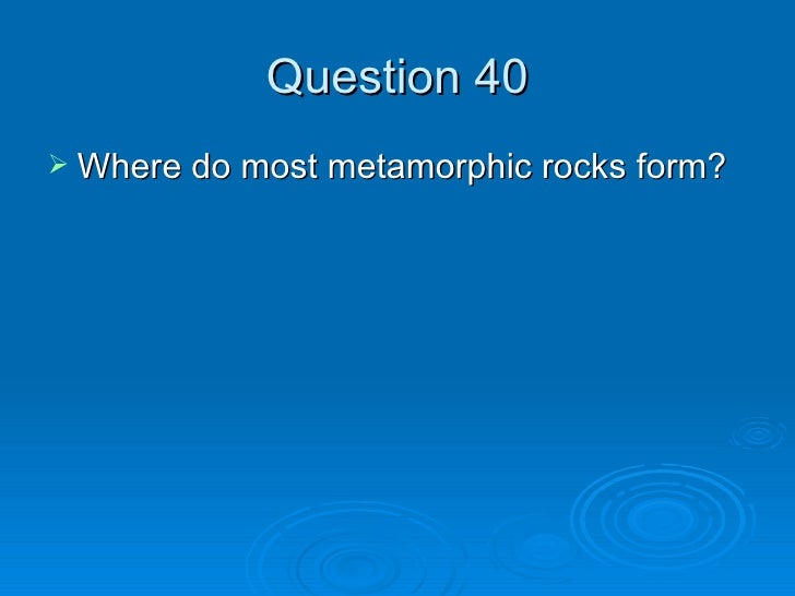 Mineral and Rocks Test Review