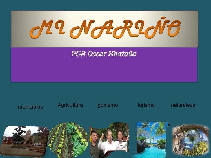 municipios Agricultura gobierno turismo naturaleza