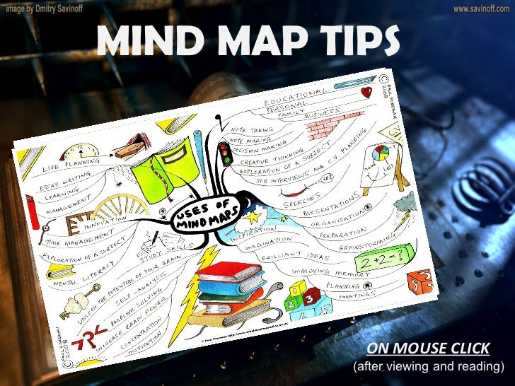 MIND MAP TIPS  ON MOUSE CLICK (after viewing and reading)