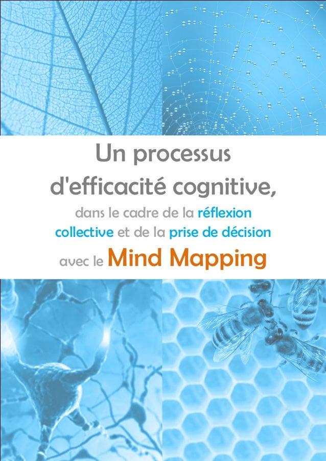 Un processusdefficacité cognitive,    dans le cadre de la réflexioncollective et de la prise de décisionavec le   Mind Map...