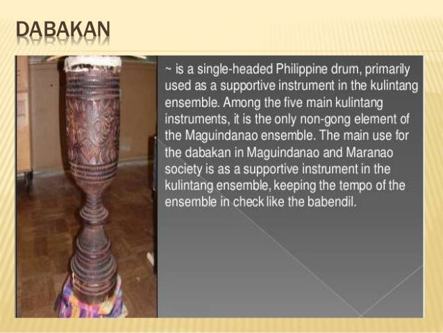 list of the instruments of mindanao Join our list  this panorama is a pictorial view of music instruments starting  with older bamboo and other instruments of  or ensembles in yunnan find  examples in two players of the same tube zither in mindanao and flat gongs in  luzon.