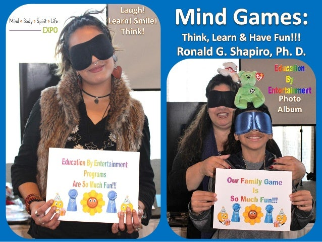 Mind Games: Think, Learn & Have Fun!!! Mind Body Spirit Life Expo, Warwick, Rhode Island, November 26, 2017, Photo Album. ...