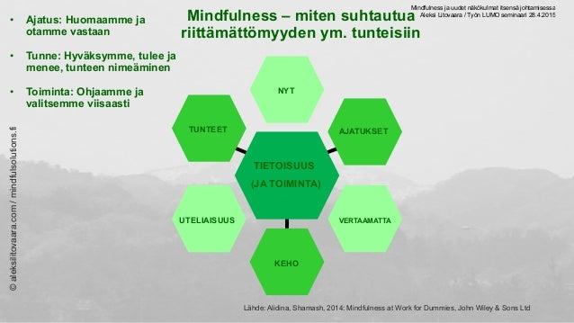 Aleksi Litovaara | Mindfulness ja uudet näkökulmat itsensä johtamisessa Slide 3