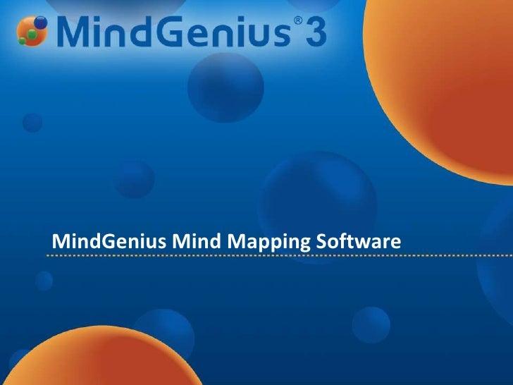 MindGeniusMind Mapping Software<br />