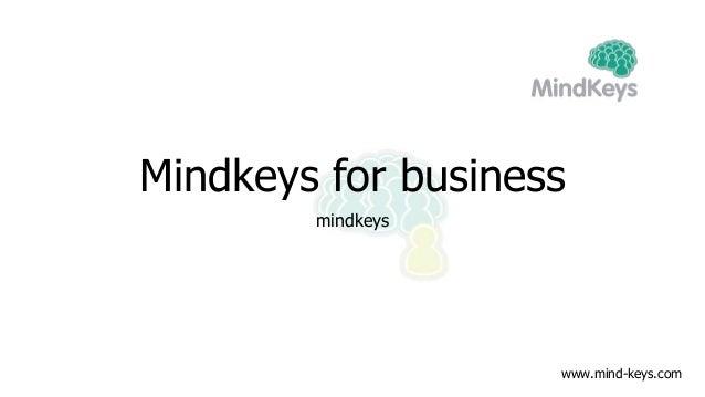Mindkeys for business mindkeys www.mind-keys.com