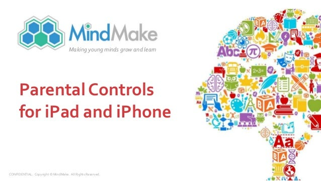 how to use parental controls on ipad
