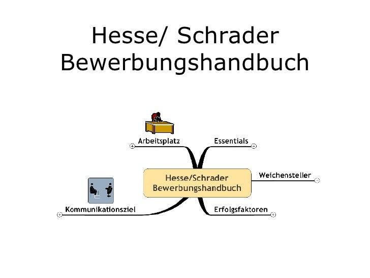 Hesse/ Schrader Bewerbungshandbuch