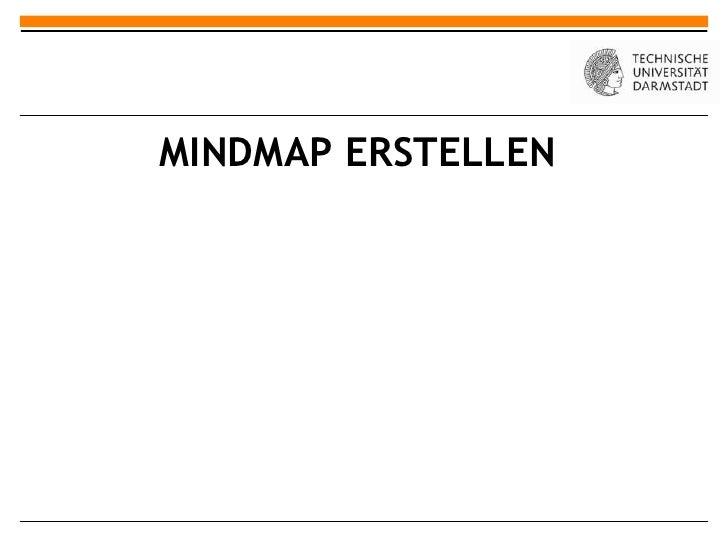 MINDMAP ERSTELLEN