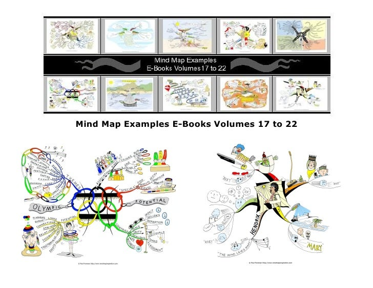 Mind Map Examples E-Books Volumes 17 to 22