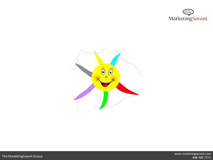 www.marketingsavant.comThe MarketingSavant Group              888.989.7771