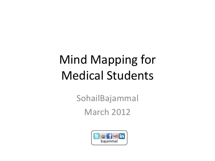 Mind Mapping forMedical Students  SohailBajammal    March 2012       bajammal