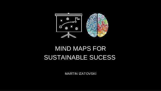MIND MAPS FOR SUSTAINABLE SUCESS MARTIN IZATOVSKI
