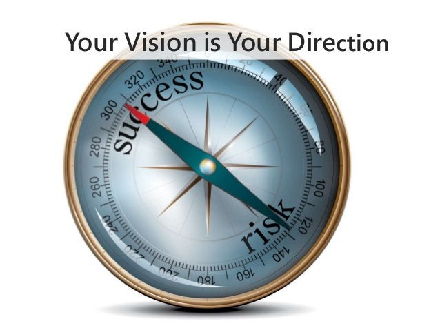 Your Vision is Your Direction
