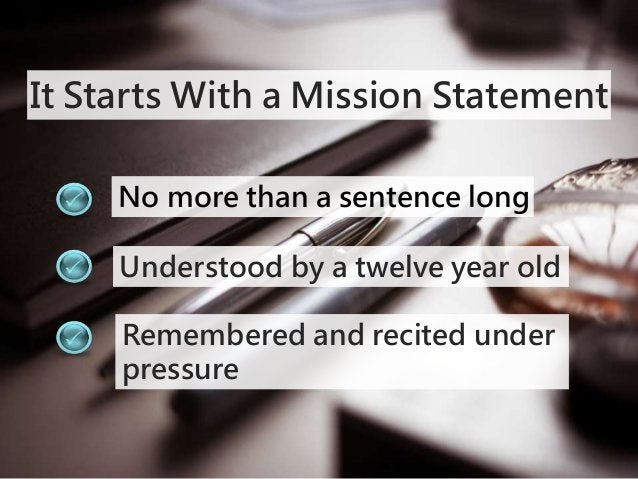 Mission Statement Formula  Actions + Who + Results =  My mission is to _____________,_______________,  ________________ (w...