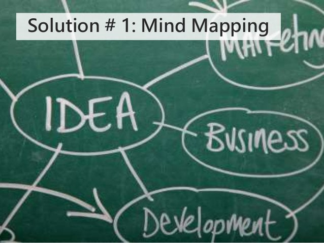 Solution # 1: Mind Mapping
