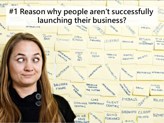#1 Reason why people aren't successfully  launching their business?