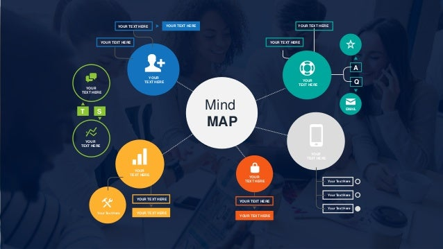 free mind map powerpoint template, Powerpoint templates