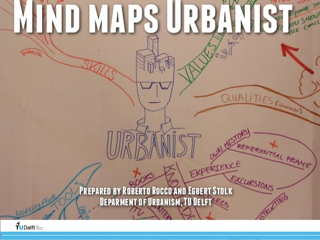 Mind maps Urbanist  Prepared by Roberto Rocco and Egbert Stolk  Deparment of Urbanism, TU Delft  Challenge(the(future