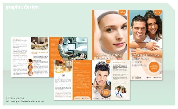 graphic designPT ERHA GROUPMarketing Colleterals - Brochures