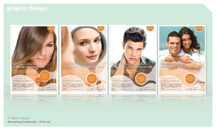graphic designPT ERHA GROUPMarketing Colleterals - Print ad