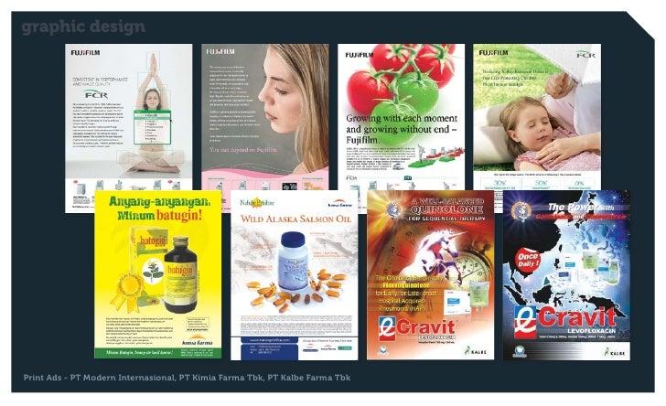 graphic designPrint Ads - PT Modern Internasional, PT Kimia Farma Tbk, PT Kalbe Farma Tbk