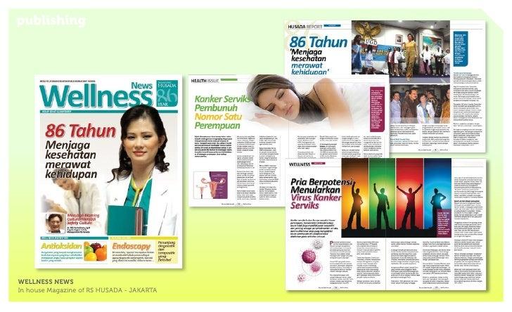 publishingWELLNESS NEWSIn house Magazine of RS HUSADA - JAKARTA