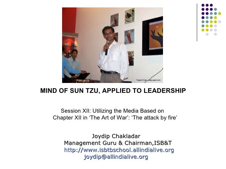 influence of sun tzu on management Transcript of sun tzu's art of war 5 fundamental  sun tzu moral influence step 1:  copy of information management strategy.
